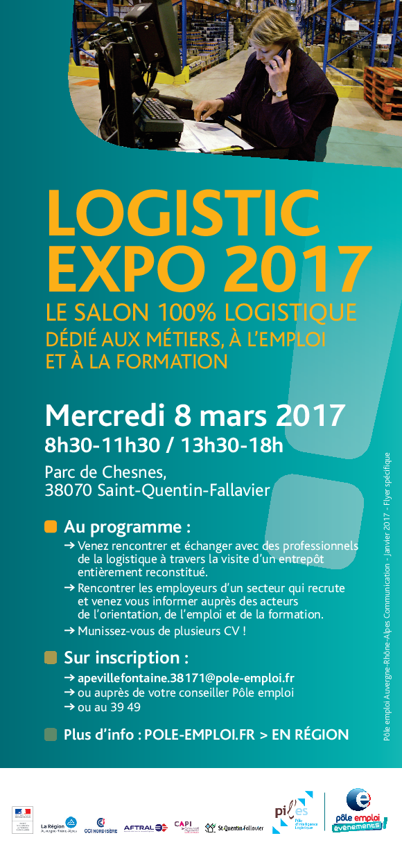 Flyer Logistic EXPO 2017